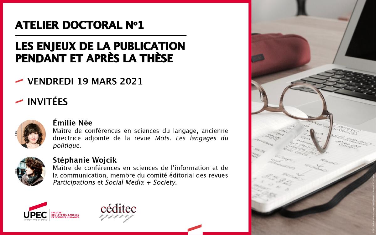 Atelier doctoral du 19.03.2021