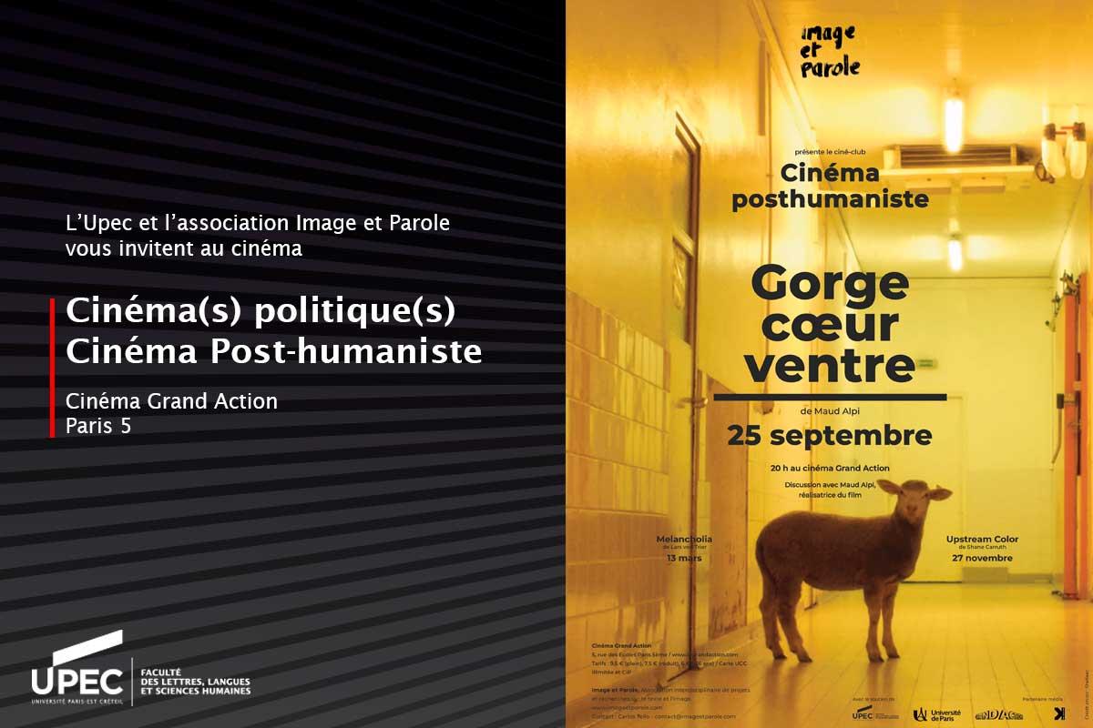 Cinéma(s) Politique(s) et Cinéma posthumaniste