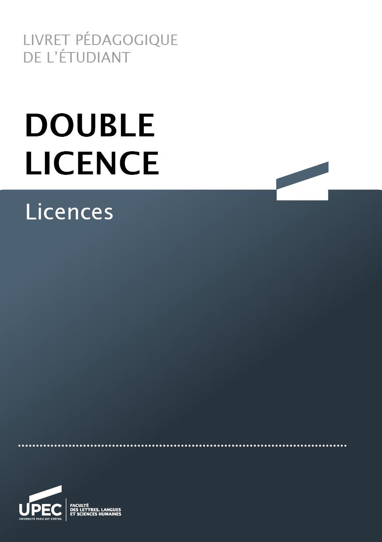 livret double licence
