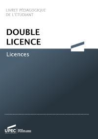 double licence LLSH UPEC