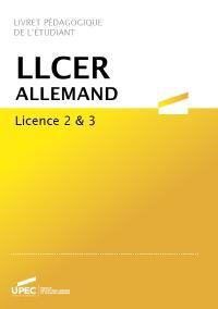 Télécharger le livret L2/L3 LLCER Allemand 2020-2021