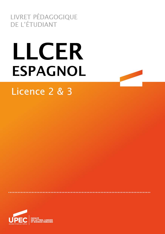 Télécharger le livret L2/L3 Espagnol 2020-2021
