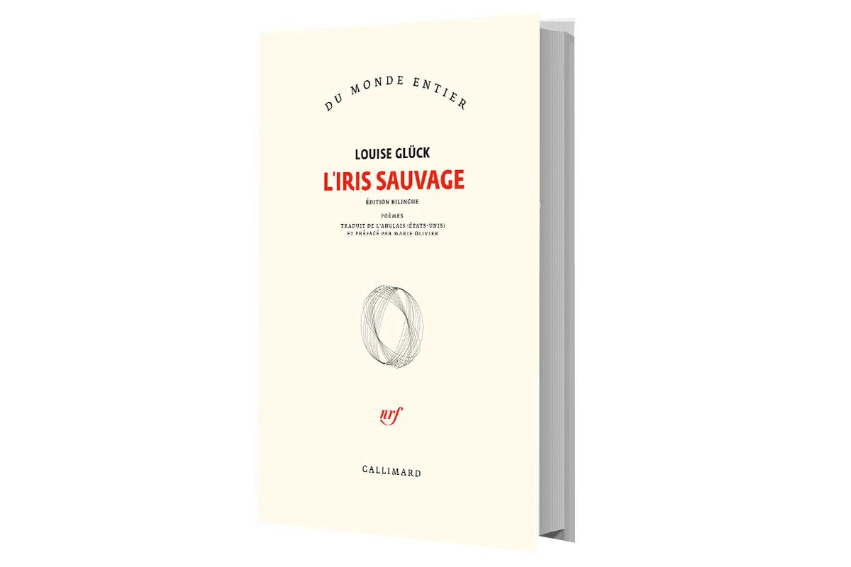 Visuel de la première de couverture du livre L'Iris sauvage de Louise Glück