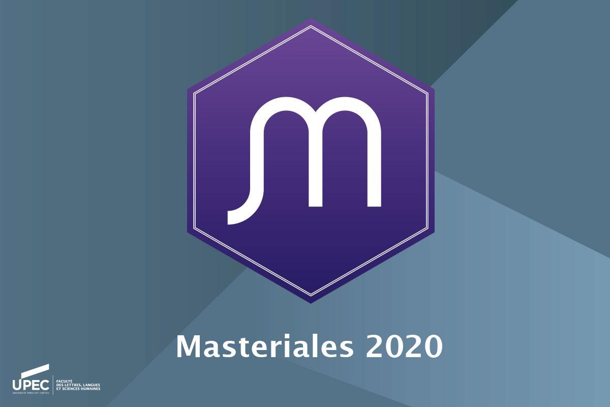 Masteriales 2020 llsh upec