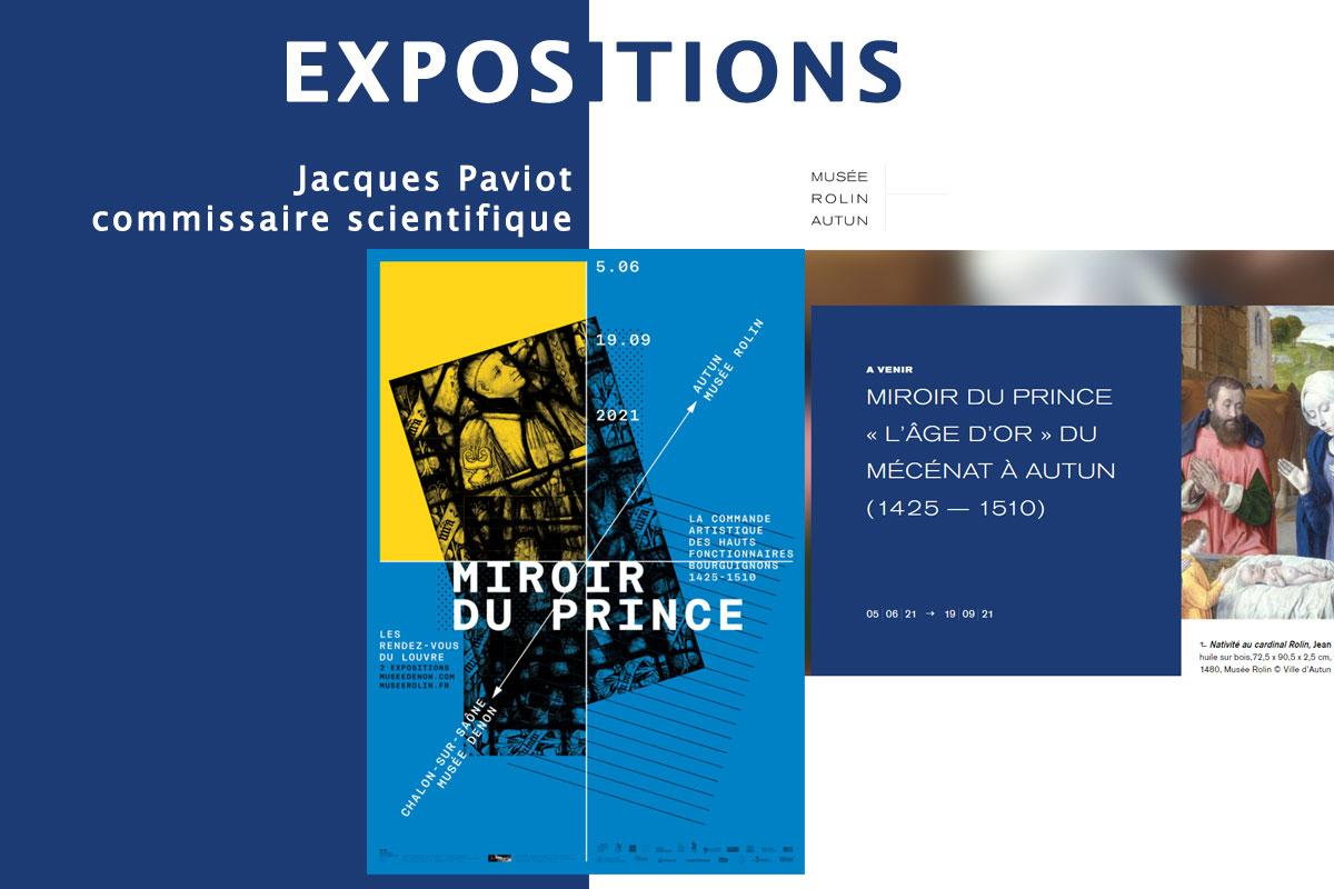 Jacques Paviot expositions